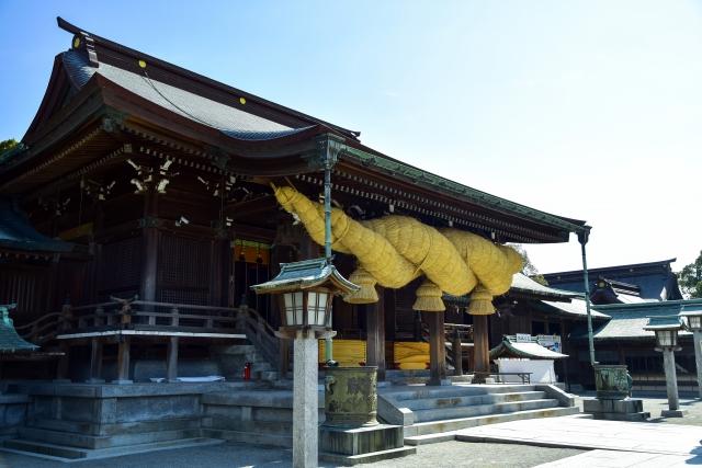 株式会社ジャストライト浪岡智がお送りする福岡県福津市にある「宮地嶽神社」のイメージ画像