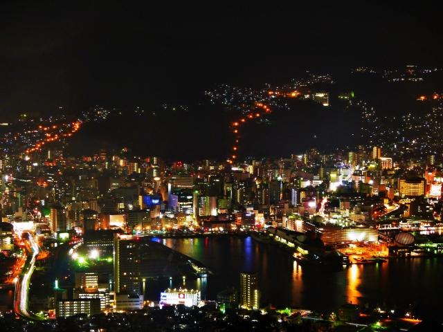 株式会社ジャストライト浪岡智がお送りする新世界三大夜景の稲佐山公園のイメージ画像